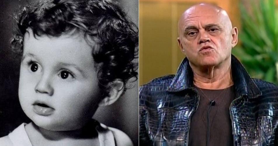 """O polêmico Oscar Maroni, primeiro eliminado de """"A Fazenda 7"""", era uma criança fofa"""