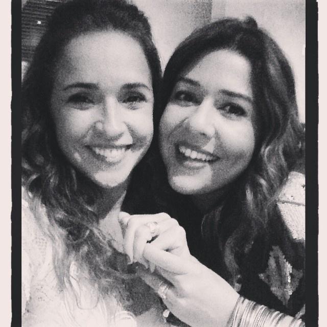 13.ou.2014 - Daniela Mercury e Malu Verçosa completaram um ano de casadas no domingo (12) e a cantora publicou uma foto no Instagram.