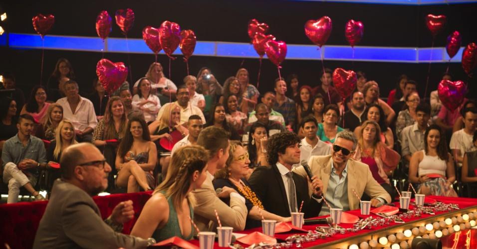Dudu Azevedo é o ator convidado para participar da banca de jurados ao lado de José Loreto, Otaviano Costa, Mariana Santos, Xico Sá e Regina Navarro Lins
