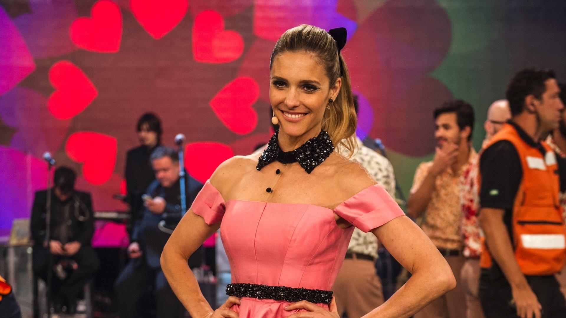 O figurino de Fernanda Lima é um capítulo à parte da produção do programa