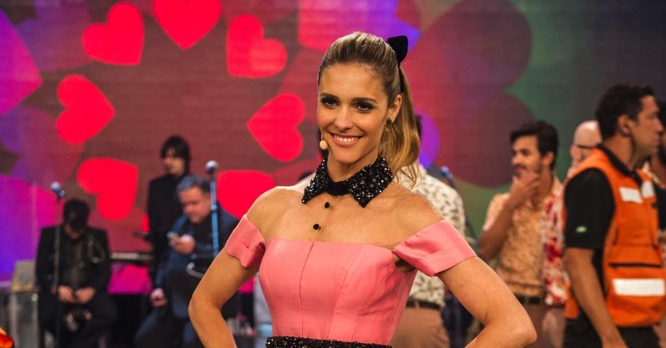 """O figurino de Fernanda Lima é um capítulo à parte da produção do programa """"Amor & Sexo"""". A apresentadora sempre capricha no visual"""