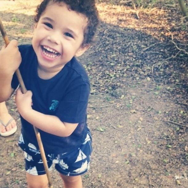 15.out.2014 - José Marcus, filho da cantora Wanessa