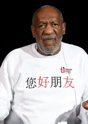O comediante Bill Cosby, que é acusado de estupro por várias mulheres