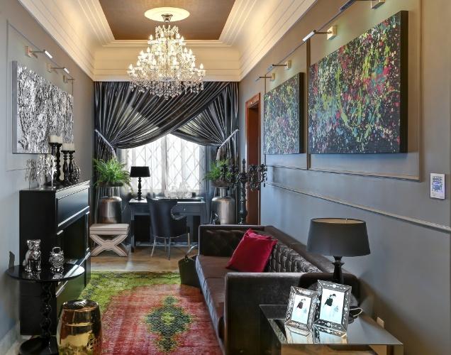 decoracao de interiores estilo francesEm prédio histórico, Casa Cor