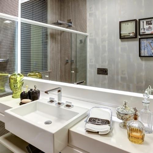 Em prédio histórico, Casa Cor Campinas revisita estilos clássico e retrô  BO # Cuba Para Banheiro Cinza