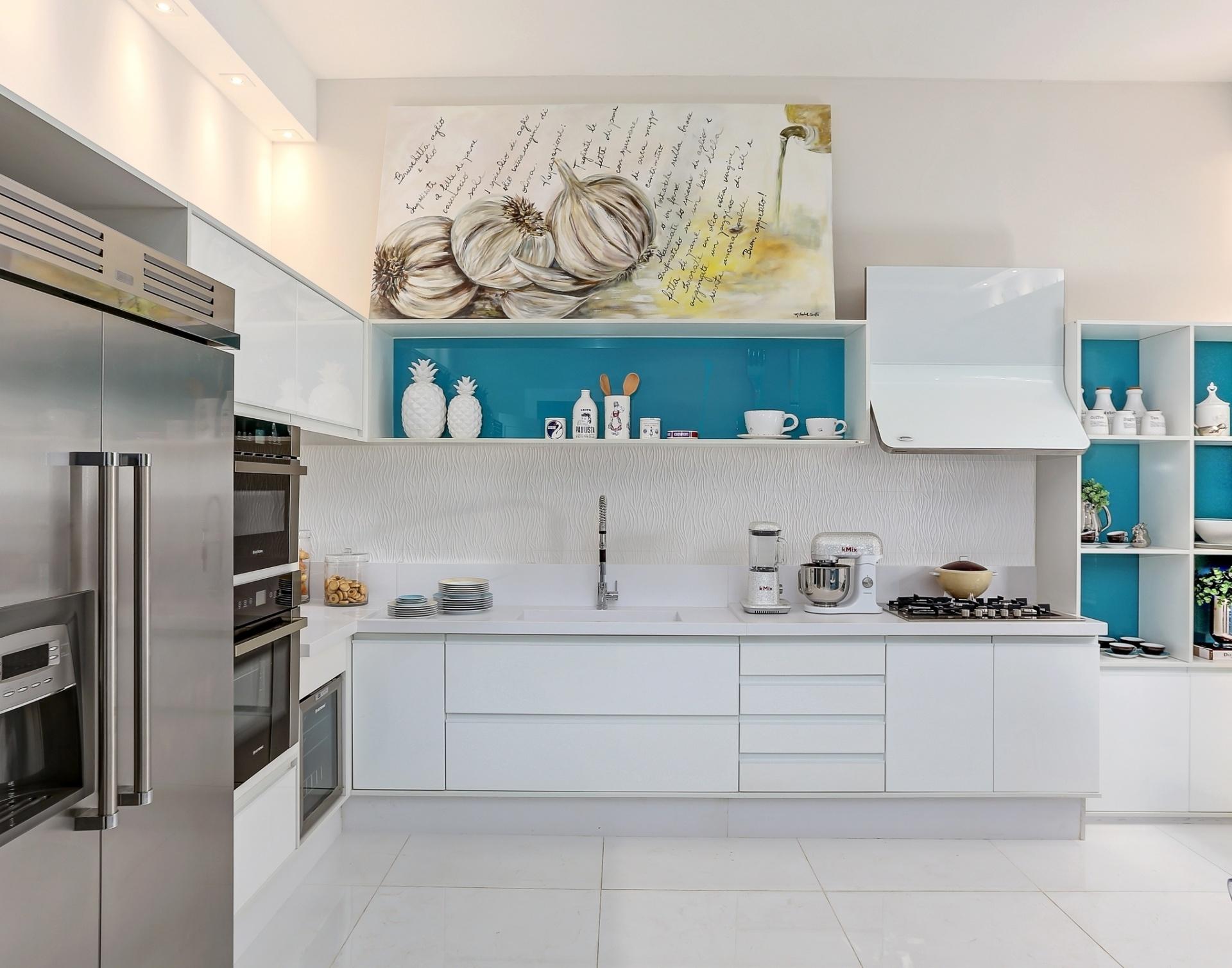 Inspirese em modelos de cozinha para decorar a sua  BOL Fotos  BOL Fotos -> Nicho Para Banheiro Campinas