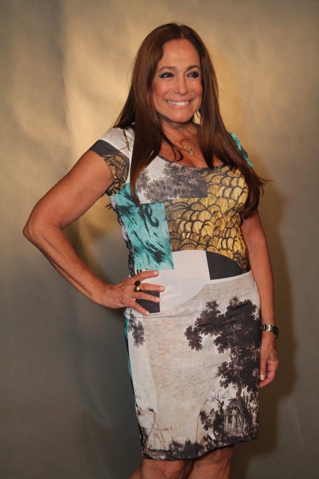 Susana Vieira no lançamento da série