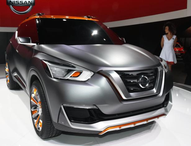 Nissan Kicks de produção deverá ser revelado até o final deste ano e chega em 2016