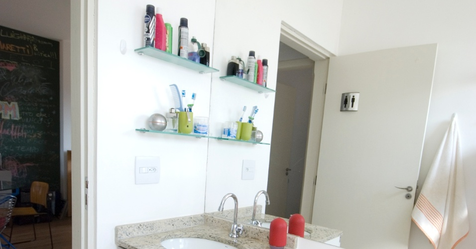 Arquitetura  BOL Fotos -> Banheiro Pequeno Com Espelho Grande