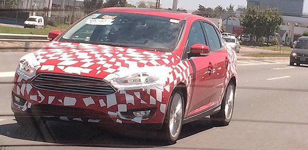 Ford Focus reestilizado é flagrado em teste na Argentina, de onde o Brasil importa o médio