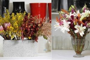 Deixar a casa bonita é fácil: basta ter flores e criatividade - Reinaldo Canato/ Montagem/ UOL