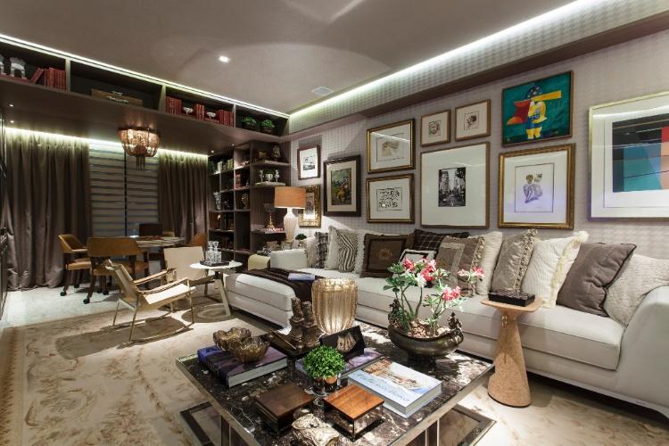 Salas e quartos da Casa Cor Bahia mesclam clássico e moderno; inspire