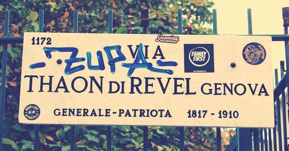 Thaon di Revel, a rua das motos retrô em Milão