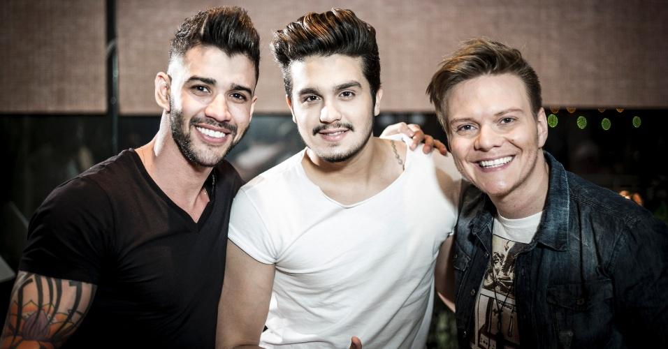 Gusttavo Lima e Luan Santana são os convidados do último episódio do quadro