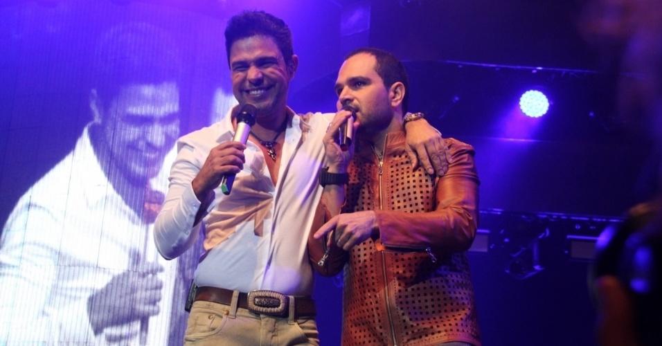14.nov.2014 - Zezé di Camargo e Luciano trazem ao Rio de Janeiro o show da turnê