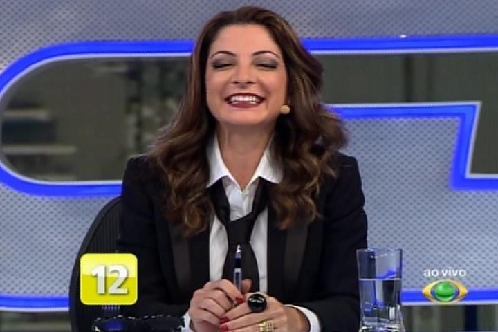 17.nov.2014 - Ana Paula Padrão comanda o
