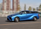 Uso de hidrogênio em carros ainda é caro e pouco desenvolvido - Yoshikazu Tsuno/AFP Photo
