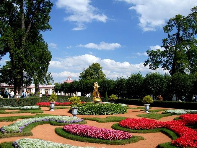 fotos de jardim grande: grande, para ser sua casa. À frente do palácio, uma fonte conhecida