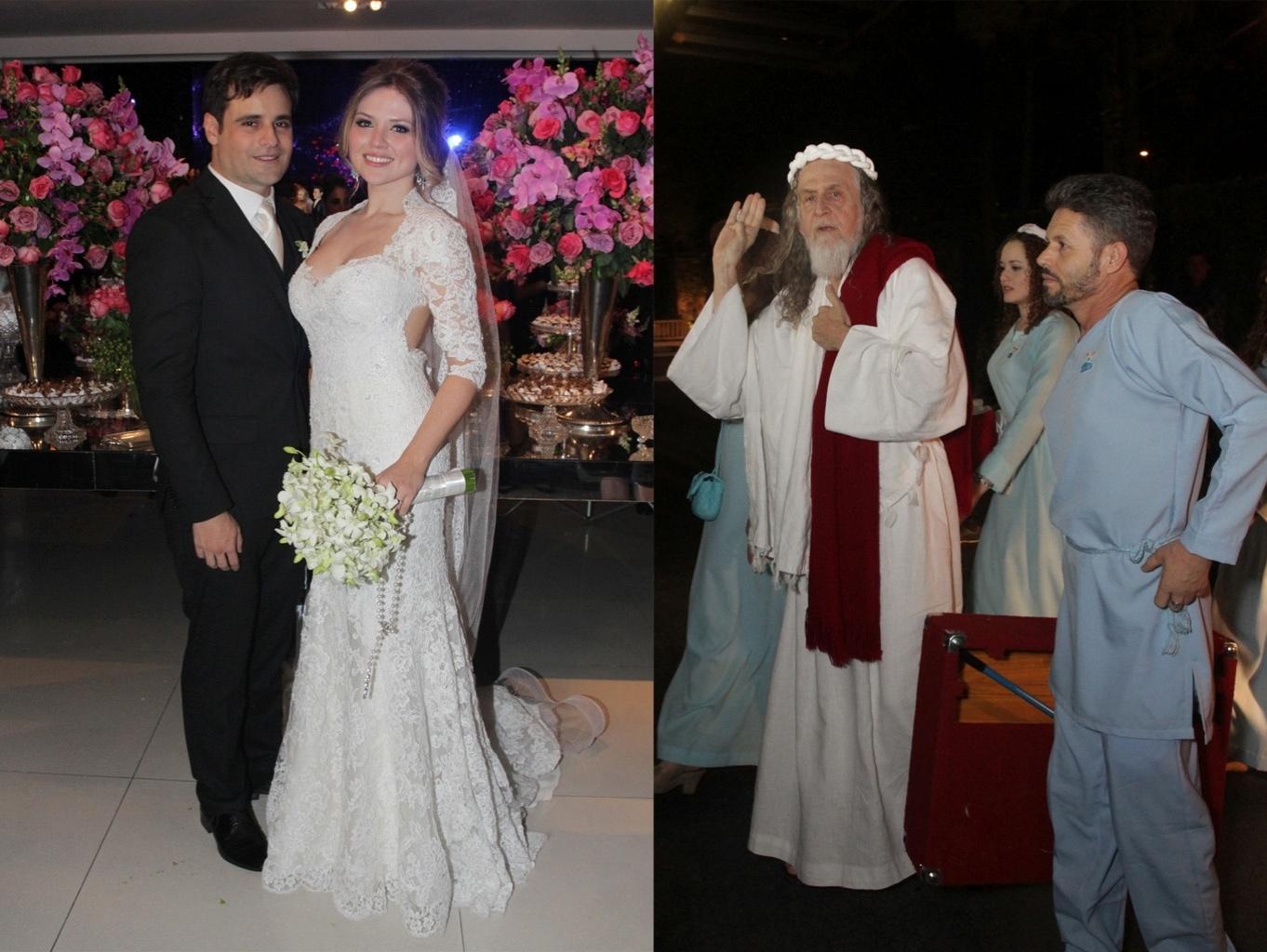Rodrigo Scarpa e Gabi Baptista se casa com