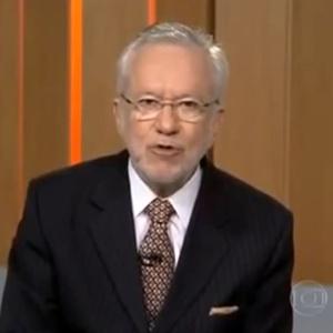 O jornalista da Globo Alexandre Garcia