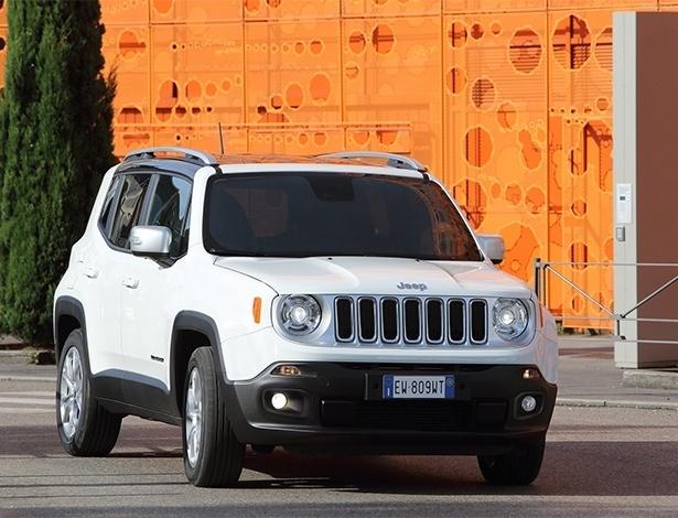 Jeep Renegade será nacional em 2015 e tem tudo que o povo quer...
