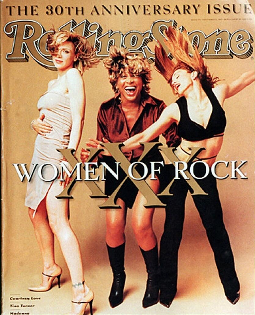 Capa do aniversário de 30 anos da revista