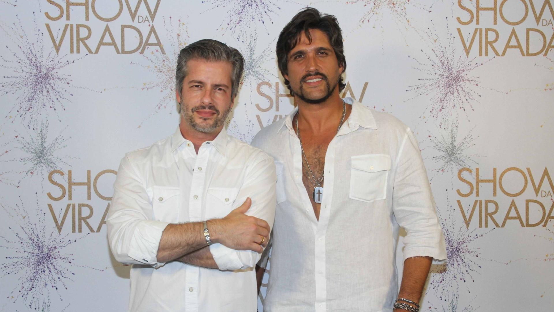 26.nov.2014 - Victor e Léo fecham o time de artistas que se apresentam na segunda noite de gravações do
