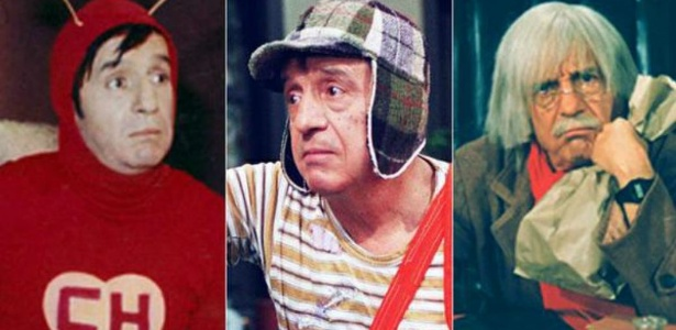 Globo noticia morte do humorista mexicano, Roberto Gómez Bolaños, o Chaves