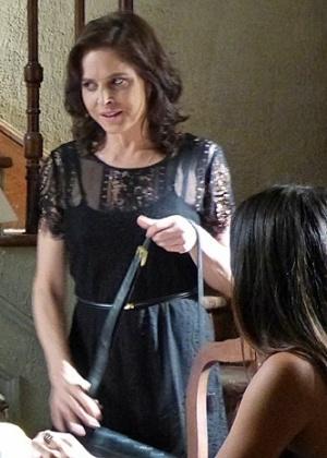 Drica Moraes chegou a gravar as primeiras cenas do encontro que Cora teria com o Comendador José Alfredo
