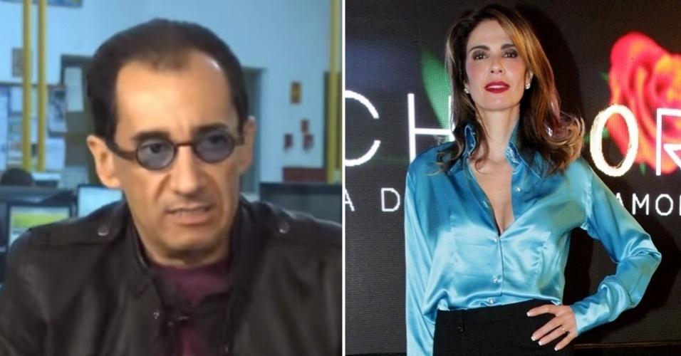 Jorge Kajuru e Luciana Gimenez brigam na justiça em processo movido por ela por difamação e injúria