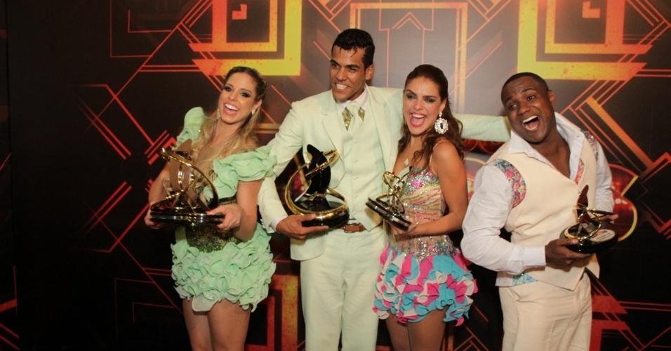 30.nov.2014 - Marcello Melo Jr. foi consagrado o campeão da 11ª edição da