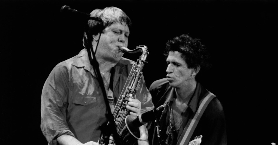 Bobby Keys e Keith Richards