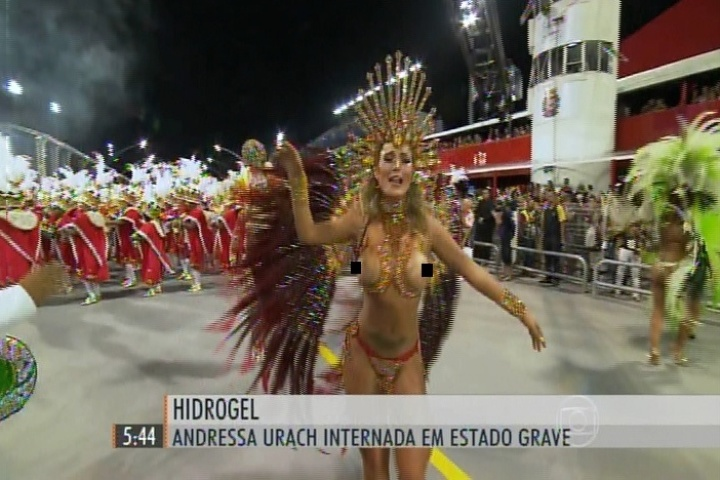Andressa Urach ganha destaque no