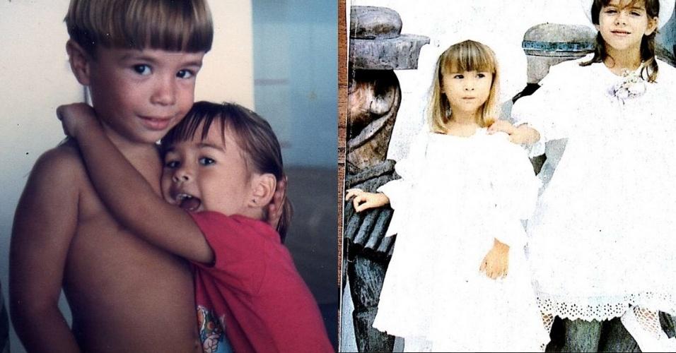 3.dez.2014 - Tatá Werneck postou algumas imagens de sua infância na manhã desta quarta-feira