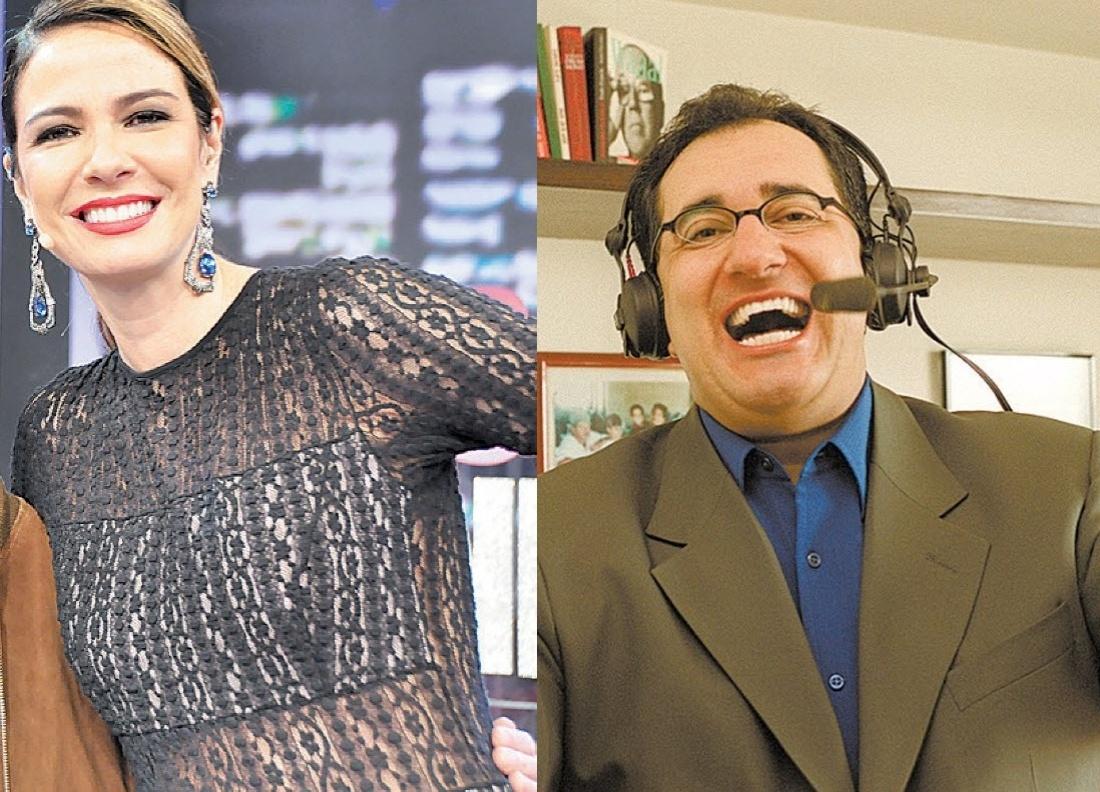 Luciana Gimenez entrou com uma ação na Justiça contra o jornalista Jorge Kajuru por difamação e injúria