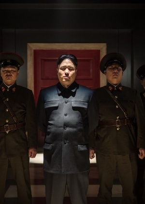 "Cena do filme ""A Entrevista"", uma ficção sobre o assassinato do líder norte-coreano, Kim Jong-un"