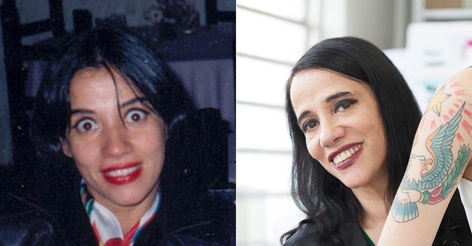 Gloria Coelho - antes e depois