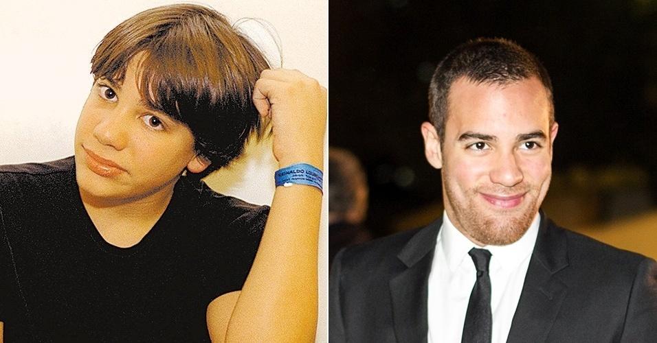 Pedro Lourenço - antes e depois