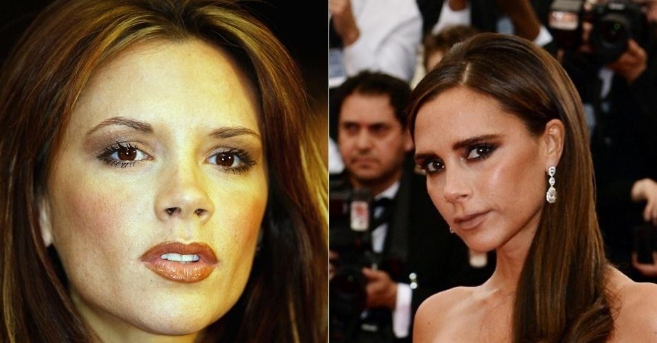 Victoria Beckham - antes e depois