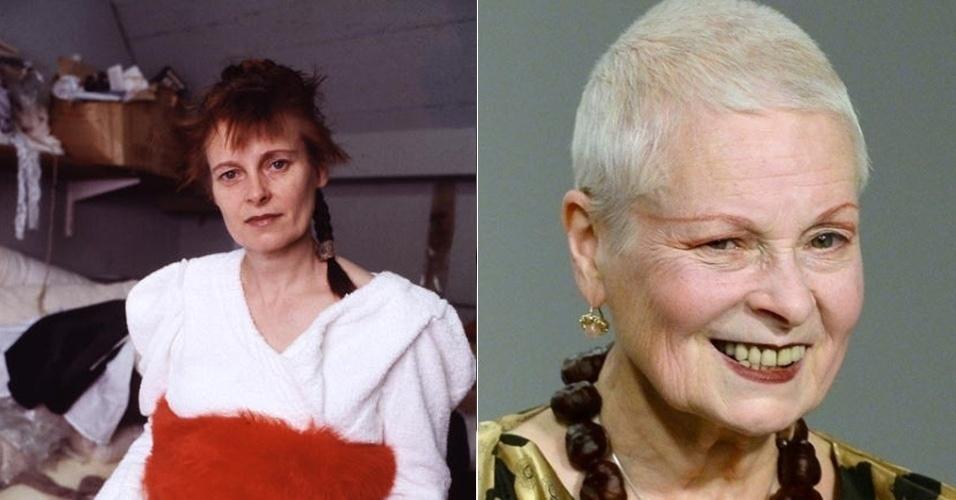 Vivienne Westwood - antes e depois
