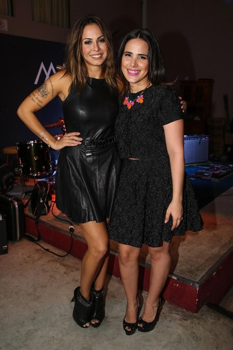 17.dez.2014 - Alinne Rosa e Wanessa se unem na primeira edição do