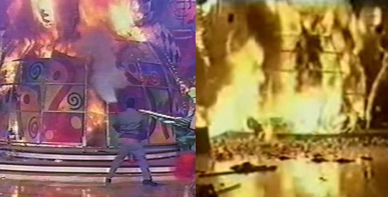 Em 11 de janeiro de 2001, Xuxa cantava