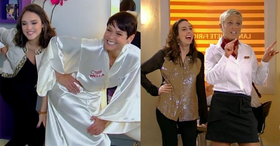 Apresentadora, cantora e atriz. Além de filmes, Xuxa fez participações em dez novelas da Globo, sendo as duas últimas em