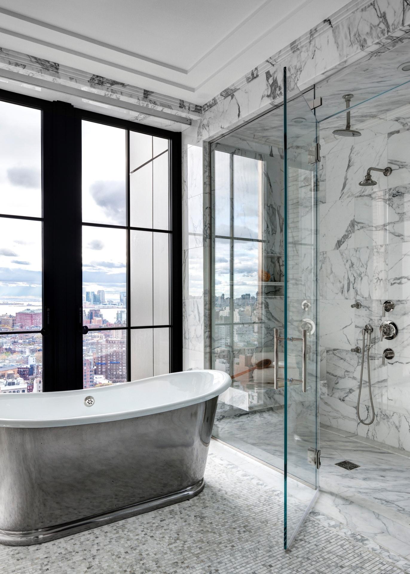 Banheiros: sugestões para decoração tendo muito ou pouco espaço  #445F64 1372 1920