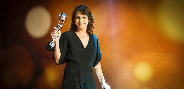 """Drica Moraes foi eleita a melhor atriz coadjuvante pelo trabalho como Cora de """"Império"""""""