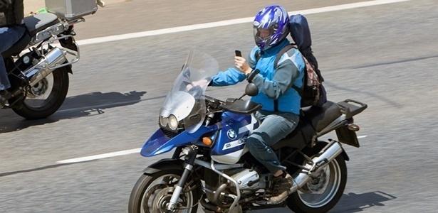 Motociclista desatento é o que tem mais chances de se envolver em acidentes
