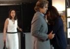 Úrsula flagra Marcelo e Inês juntos em