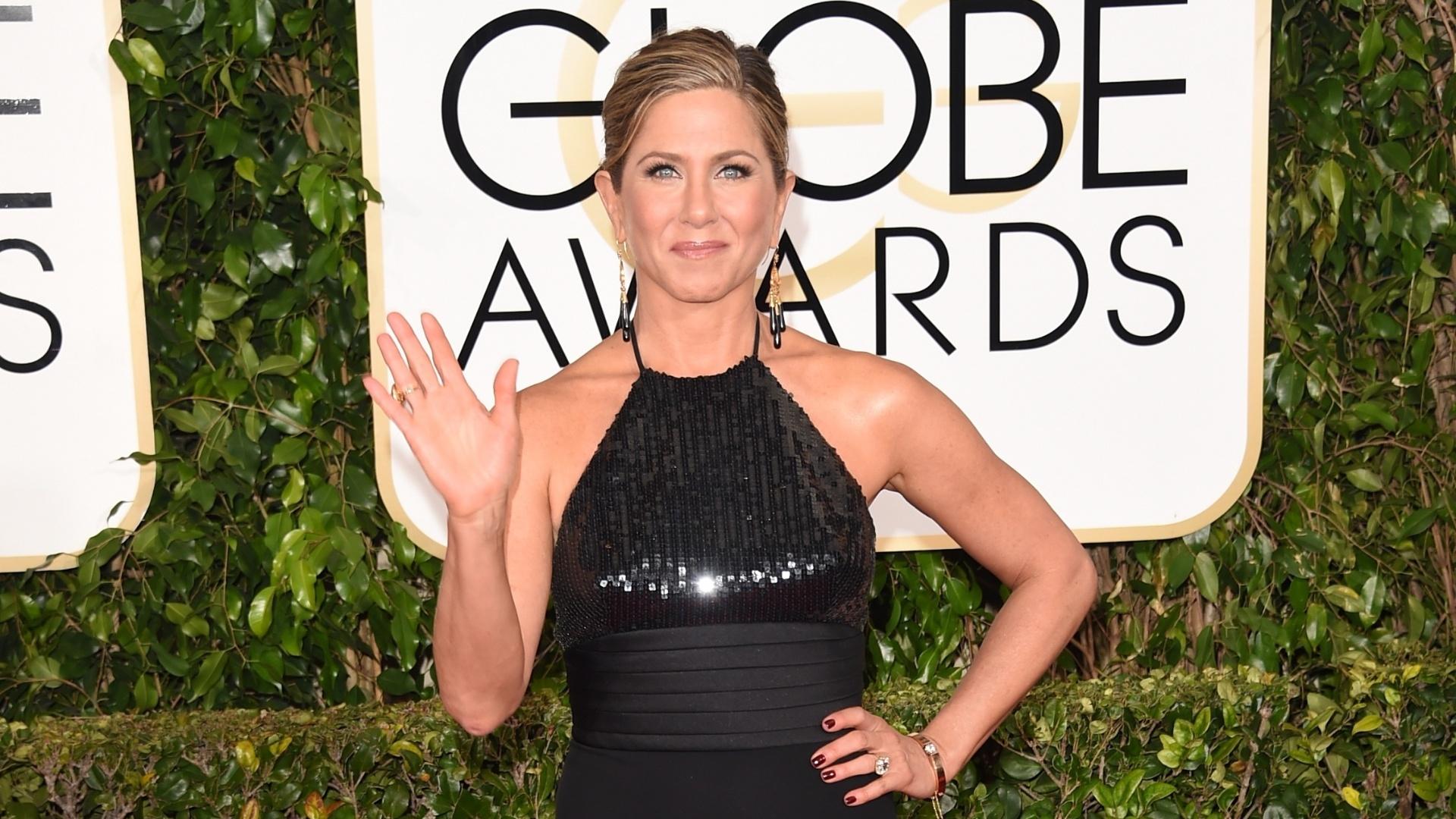 11.jan.2015 - Jennifer Aniston concorre na categoria melhor atriz em drama pelo filme