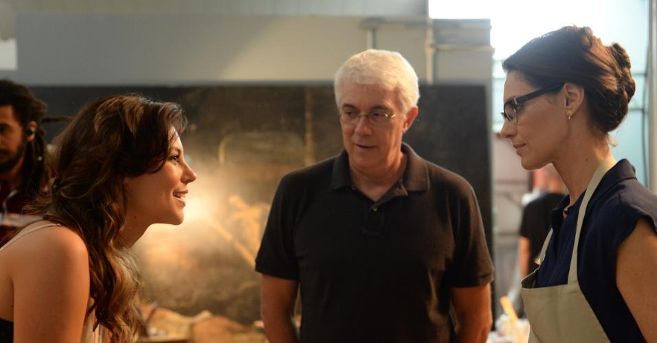 Paolla Oliveira e Maria Fernanda Cândido na minissérie