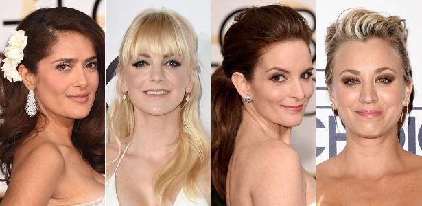 """Celebridades inspiram noivas na hora de escolher o penteado do """"grande dia"""""""